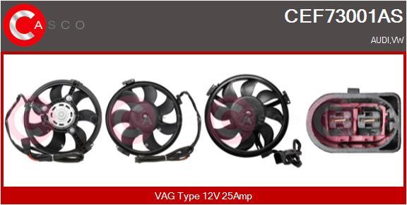 Moteur de ventilateur refroidissement CASCO CEF73001AS (X1)