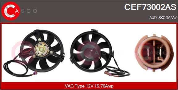 Moteur de ventilateur refroidissement CASCO CEF73002AS (X1)