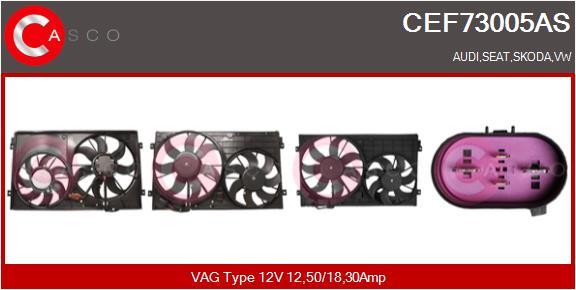 Moteur de ventilateur refroidissement CASCO CEF73005AS (X1)