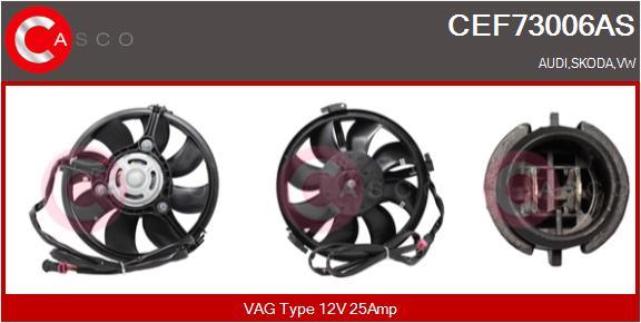 Moteur de ventilateur refroidissement CASCO CEF73006AS (X1)