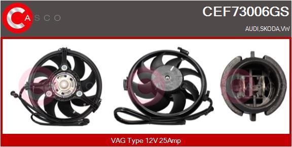 Moteur de ventilateur refroidissement CASCO CEF73006GS (X1)