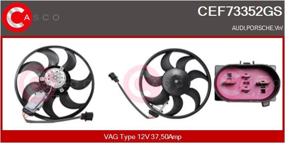 Ventilateur de radiateur CASCO CEF73352GS (X1)