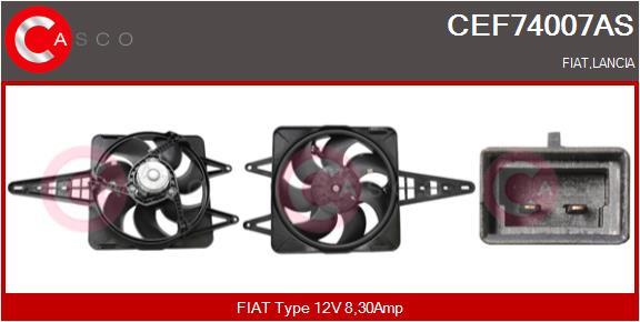 Moteur de ventilateur refroidissement CASCO CEF74007AS (X1)
