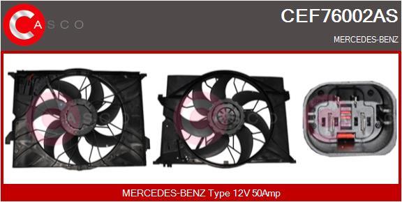 Moteur de ventilateur refroidissement CASCO CEF76002AS (X1)