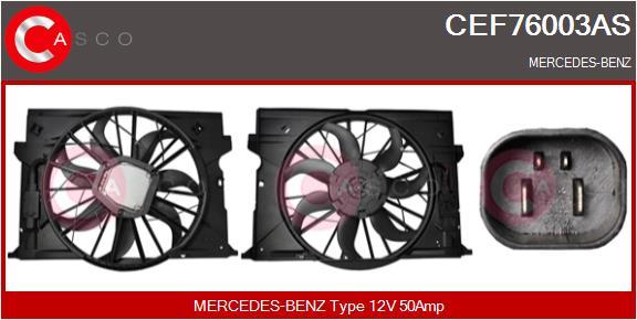 Moteur de ventilateur refroidissement CASCO CEF76003AS (X1)