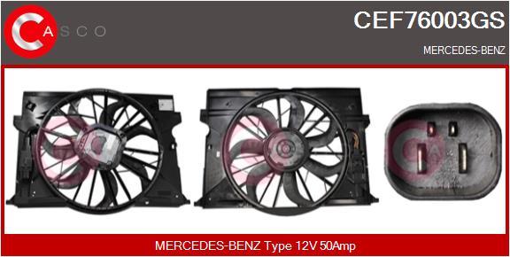Moteur de ventilateur refroidissement CASCO CEF76003GS (X1)
