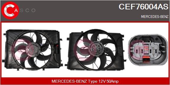 Moteur de ventilateur refroidissement CASCO CEF76004AS (X1)