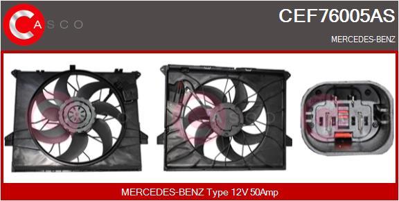 Moteur de ventilateur refroidissement CASCO CEF76005AS (X1)