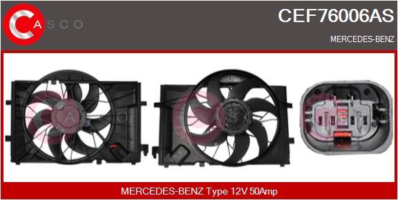 Moteur de ventilateur refroidissement CASCO CEF76006AS (X1)