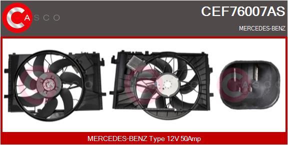 Moteur de ventilateur refroidissement CASCO CEF76007AS (X1)