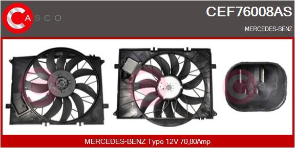 Moteur de ventilateur refroidissement CASCO CEF76008AS (X1)