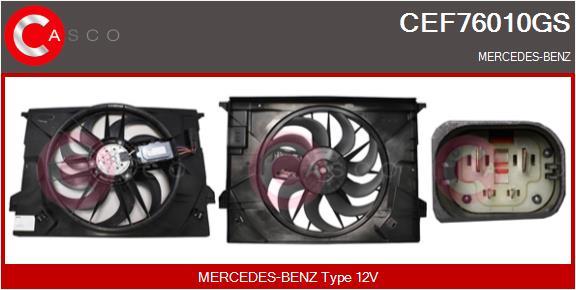 Moteur de ventilateur refroidissement CASCO CEF76010GS (X1)