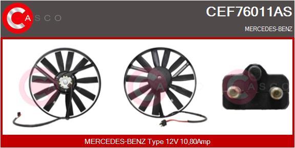 Moteur de ventilateur refroidissement CASCO CEF76011AS (X1)