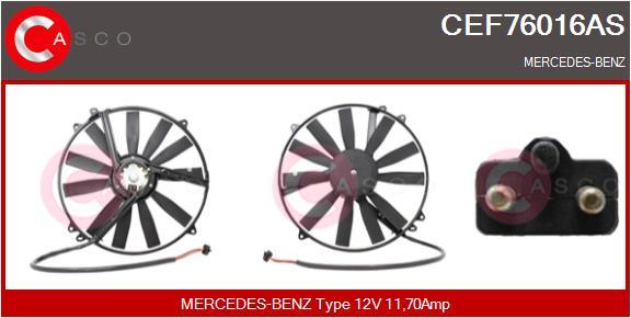 Moteur de ventilateur refroidissement CASCO CEF76016AS (X1)