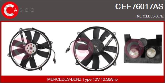 Moteur de ventilateur refroidissement CASCO CEF76017AS (X1)