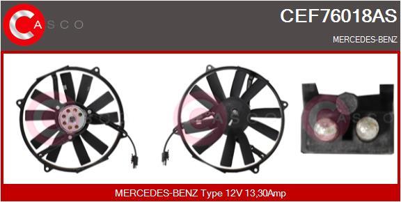 Moteur de ventilateur refroidissement CASCO CEF76018AS (X1)