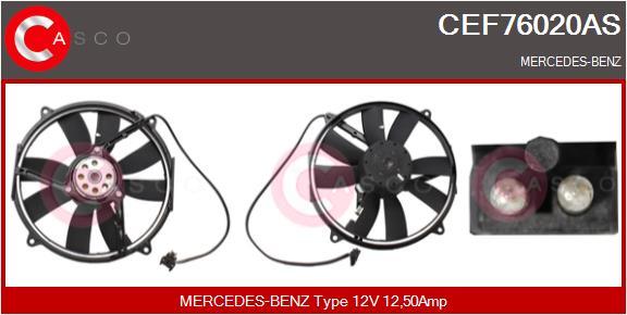 Moteur de ventilateur refroidissement CASCO CEF76020AS (X1)