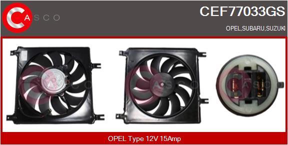 Moteur de ventilateur refroidissement CASCO CEF77033GS (X1)