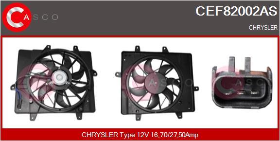 Moteur de ventilateur refroidissement CASCO CEF82002AS (X1)