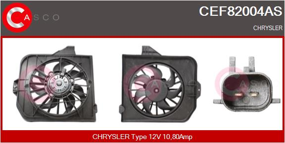 Moteur de ventilateur refroidissement CASCO CEF82004AS (X1)