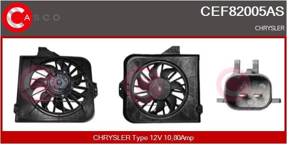 Moteur de ventilateur refroidissement CASCO CEF82005AS (X1)