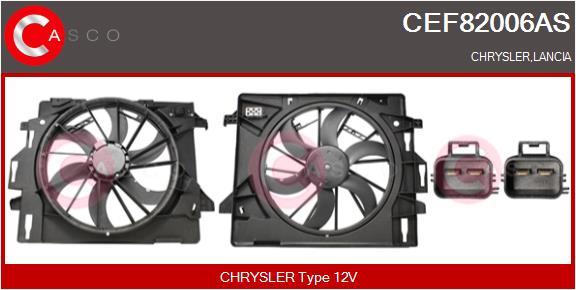 Moteur de ventilateur refroidissement CASCO CEF82006AS (X1)