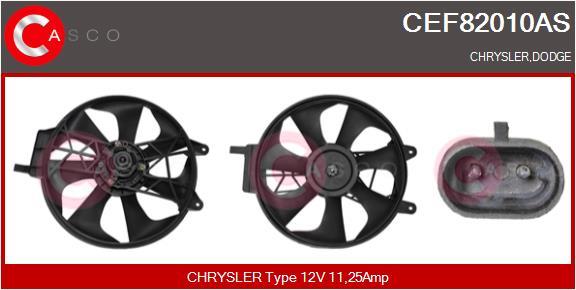 Moteur de ventilateur refroidissement CASCO CEF82010AS (X1)