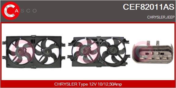 Moteur de ventilateur refroidissement CASCO CEF82011AS (X1)