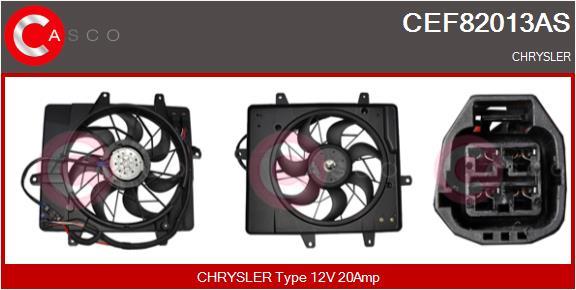 Moteur de ventilateur refroidissement CASCO CEF82013AS (X1)