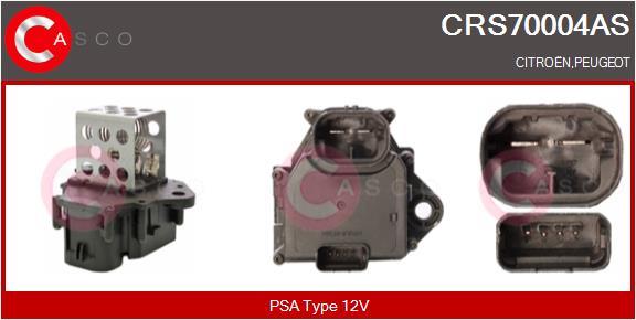 Resistance ventilateur CASCO CRS70004AS (X1)