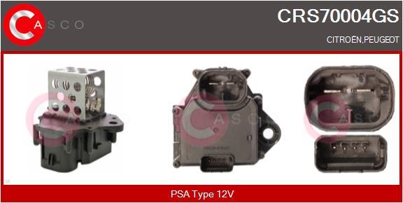 Resistance ventilateur CASCO CRS70004GS (X1)