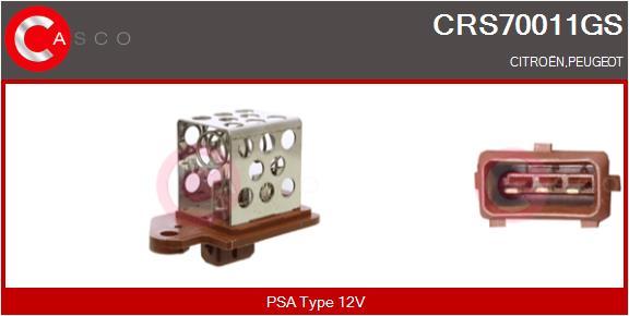 Resistance ventilateur CASCO CRS70011GS (X1)