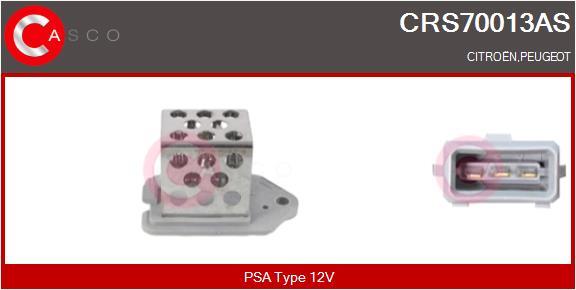 Resistance ventilateur CASCO CRS70013AS (X1)