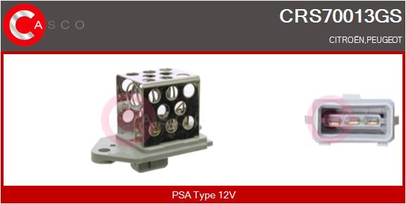 Resistance ventilateur CASCO CRS70013GS (X1)