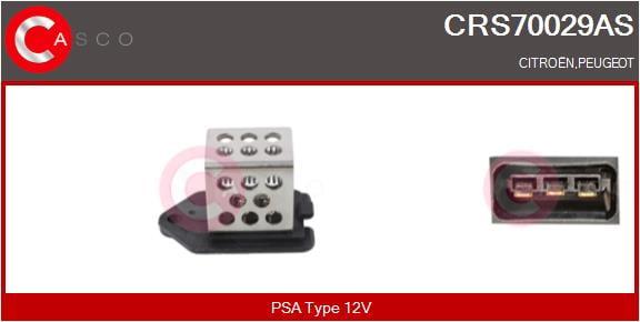 Resistance ventilateur CASCO CRS70029AS (X1)