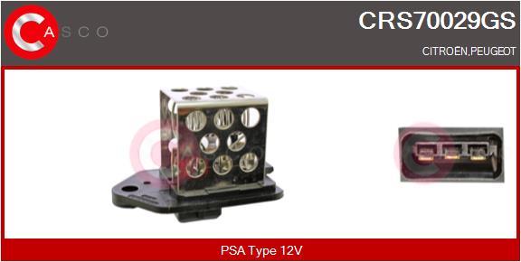 Resistance ventilateur CASCO CRS70029GS (X1)