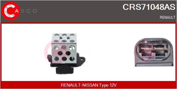 Resistance ventilateur CASCO CRS71048AS (X1)