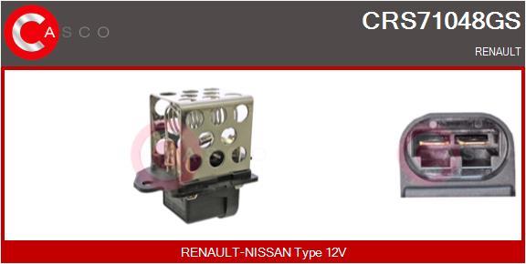 Resistance ventilateur CASCO CRS71048GS (X1)