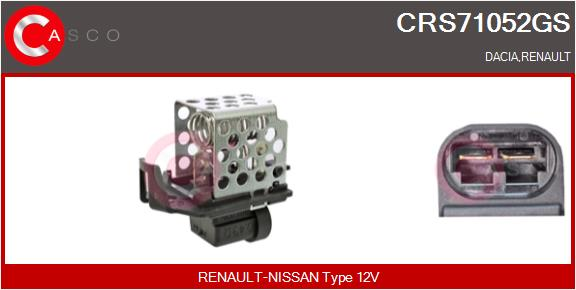 Resistance ventilateur CASCO CRS71052GS (X1)