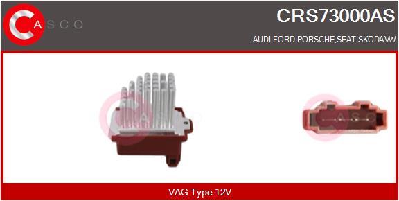 Resistance moteur de ventilateur de chauffage CASCO CRS73000AS (X1)