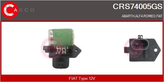 Resistance ventilateur CASCO CRS74005GS (X1)