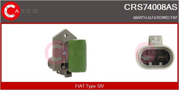 Resistance ventilateur CASCO CRS74008AS (X1)