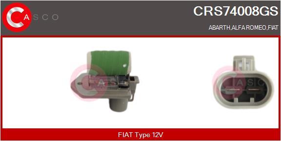 Resistance ventilateur CASCO CRS74008GS (X1)