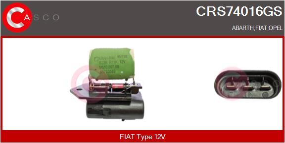 Resistance ventilateur CASCO CRS74016GS (X1)
