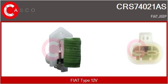 Resistance ventilateur CASCO CRS74021AS (X1)
