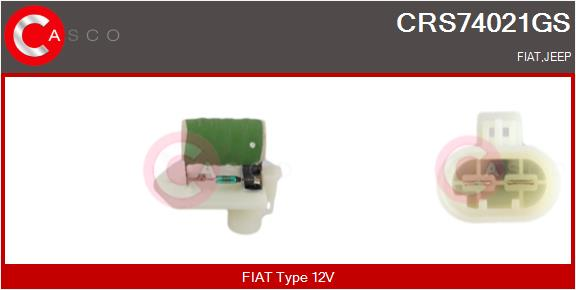 Resistance ventilateur CASCO CRS74021GS (X1)