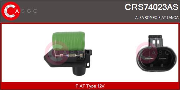 Resistance ventilateur CASCO CRS74023AS (X1)