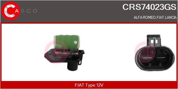 Refroidissement CASCO CRS74023GS (X1)