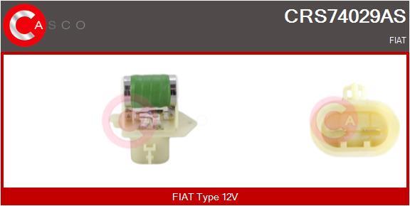 Resistance ventilateur CASCO CRS74029AS (X1)
