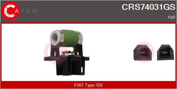 Resistance ventilateur CASCO CRS74031GS (X1)